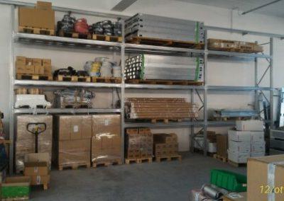 Scaffalatura garage
