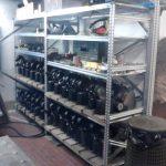 Scaffalatura garage deposito
